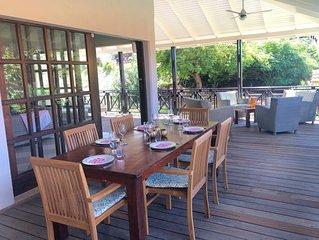 6-pers. Blue Bay Beach Village-villa dichtbij strand golfbaan veel privacy!