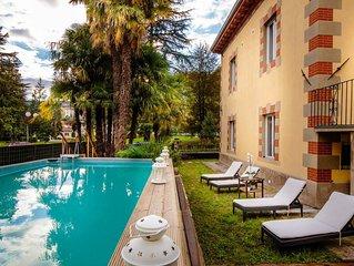 VILLA CONTESSA 5 bedrooms Villa with Private Pool in BAGNI DI LUCCA wifi