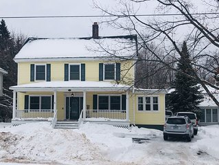 Large home walking distance to town and trails. 10 minutes to ski resorts.