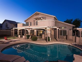 Welcome to our beautiful Arizona home 1.5 miles East of the Cardinals Stadium