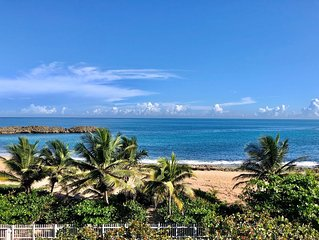 Luxurious Beachfront Condo Only Steps From The Water