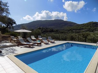 Luxury Stone-Built Villa nestled in its own olive grove.