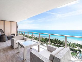 Beautiful beach front Condo at the St. Regis Hotel