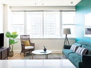 Sonder | Duncan Plaza | Sunny 1BR + Rooftop