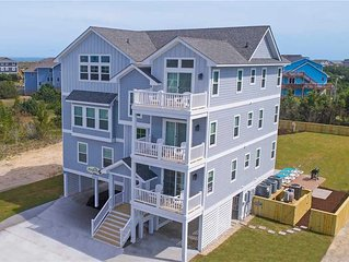 Brand New 2019- Oceanview Salvo w/ Pool, Hot Tub, Theater & Game Rooms, Elevator