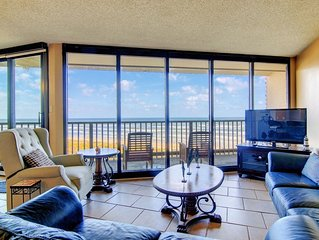Sea Gull #404: Beachfront 2 Bedroom 2 Bath with Spectacular Views and 24 Hour Ma