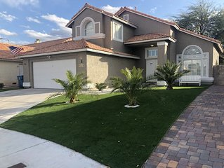 Luxury home amazing location. 8 mins from strip and all major attractions.