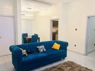Fully furnished and serviced duplex with 24hours electricity