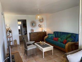 Magnifique appartement vue mer 180° - Hauteur anse  Des Rochers
