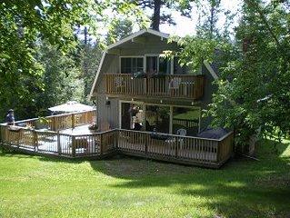 Cozy 4 Br Fairmont Hot Springs Mountainside Retreat
