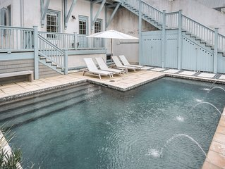 Ava's Cottage - Large Private Pool, Steps to Beach