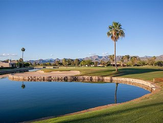 Weclome to the Rio Verde Golf Casita, a 2 BR 2 BTH golf home: 55+