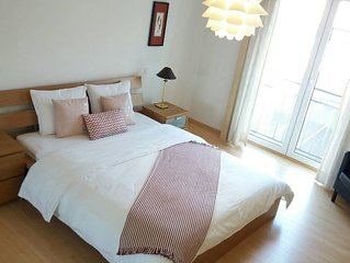 Cosy Flat-100m(3beds)-City Center Bus&Train nearby