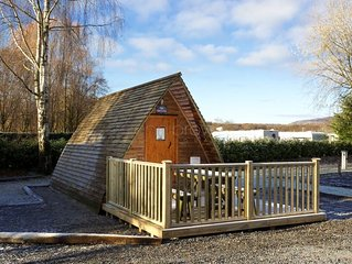Braidhaugh Wigwams (standard) Sleep up to 4 persons, 2 adults are included