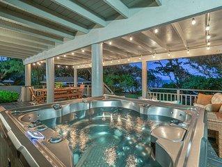 Moani Kai - 6 bedrooms, Hot tub, Beachfront