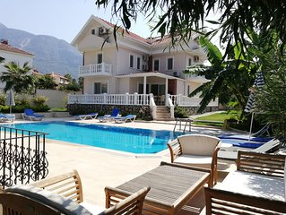 Beautiful Detached Family Villa with Private Pool in Ovacik
