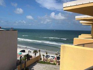 Beach Front Resort Ocean View Condo