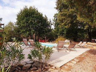 Villa avec piscine, au calme, classee < 4 etoiles tourisme >, au ceour du Var