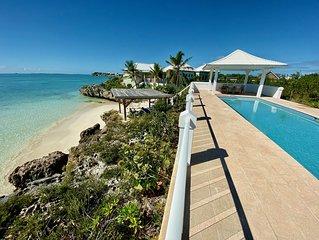 2  Beach Front Villas, Beautiful Beach!!   Amazing Ocean Views, 2 Private Pools!