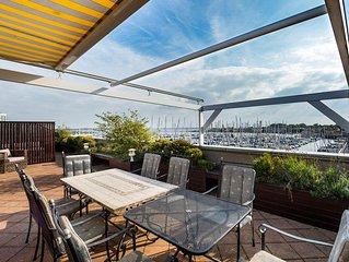 Kabbelaarsbank 2.15 Luxuriöses Penthouse mit Aussicht auf den Hafen