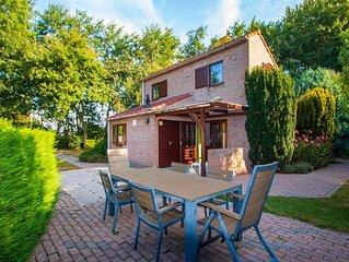 Schouwsw duin 3 Ferienhaus in Parkanlage mit großem Garten und Terrasse