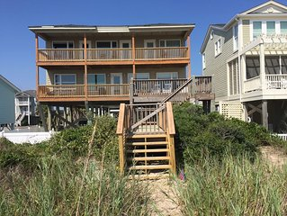 Loggerhead Landing--Beautiful oceanfront home with large private heated pool