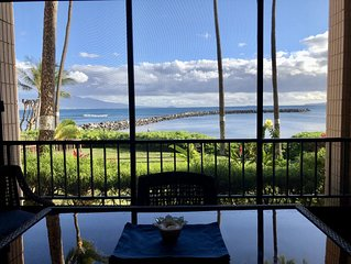 Hidden Gem:  Oceanfront Secluded Two En-suite No Smoking Condo In Maalaea