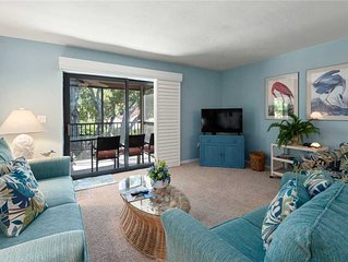 Tropical Garden View 2 bedroom, 2 bath at Sanibel Moorings Resort #332