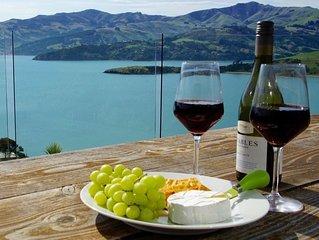 Luxury Views - Akaroa Holiday House