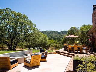 5-Star Wine Country Estate and Experience: 'The Best Home in Calistoga!'