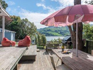 Little Hill Top Hilton - Akaroa Holiday Home