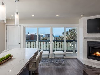 STEPS FROM THE BEACH! Amazing Del Mar Ocean View Condo