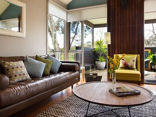 Daylesford Spa Villa 6 - Architect designed, Two bedrooms & Pets welcome!