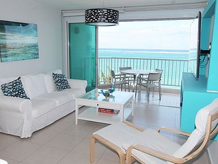 Beautiful Isla Verde Beachfront Condo with Incredible Views!