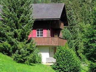 Ferienwohnung Grindelwald für 5 Personen mit 2 Schlafzimmern - Ferienwohnung
