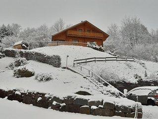Chalet au coeur des Vosges, avec sauna panoramique