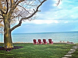 PREMIUM COACH HOUSE... on the shores of Lake Erie