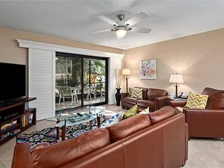 Tropical Garden View 2 bedroom, 2 bath at Sanibel Moorings Resort #341