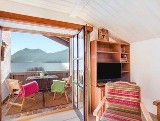 Gemütliche Ferienwohnung Riepl mit Seezugang, Garten, Balkon und WLAN; Parkplätz