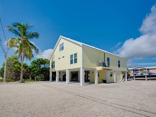 Large Canal Home in Big Pine Key, FL