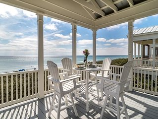 BRAND NEW GULF FRONT LISTING IN SEASIDE!! - Magnolia Honeymoon Cottage - Two Adu