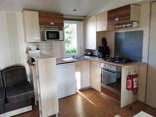 Loue Mobil Home 6 places Pont Aven sur emplacement 160