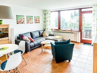 Moderne, und zentral gelegenen Ferienwohnung in Hahnenklee.