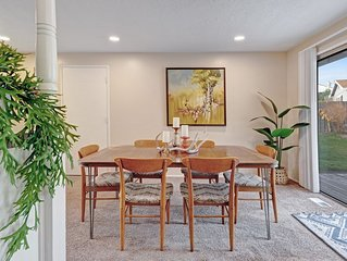 Modern, dog-friendly home with ideal location for work or pleasure!
