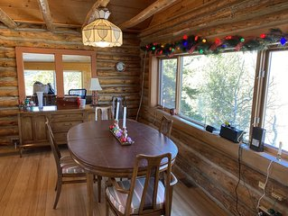 Savor the holidays at The Cabin in the Blue Sky