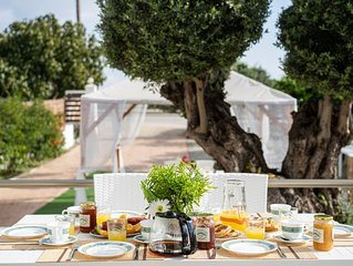 Afandou Golf Rhodes Villa with Private Pool, Fruit Garden & amazing view!