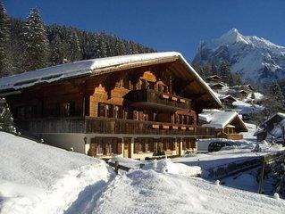 Ferienwohnung Grindelwald fur 2 - 3 Personen mit 1 Schlafzimmer - Ferienwohnung