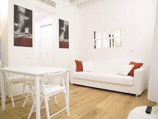 Stupendo appartamento completamente arredato in Romana (free wifi, AC)