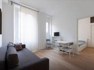 Meraviglioso nuovo appartamento in Porta Romana (free wifi, AC)
