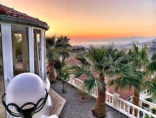 Ferienvilla- Ferienhaus 'NEPTUN' Privatpool und nahe dem Meer - Alanya